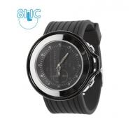 Hodinky Silic Watch Anapol - černé