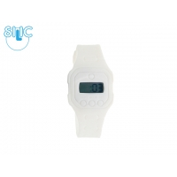 Hodinky Silic Watch binny - bílé