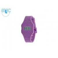Hodinky Silic Watch binny - fialové