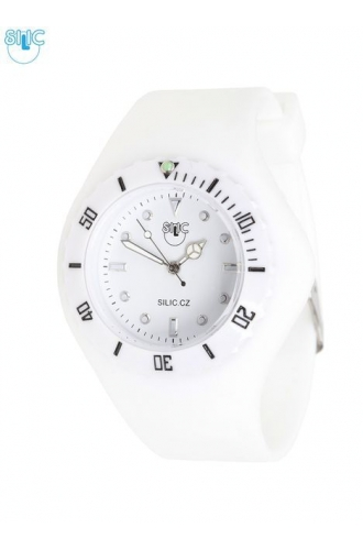 Hodinky Silic Watch Dreamy - bílé