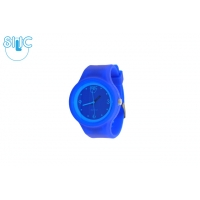 Silic Watch COLOR Round Babe - modrá variace