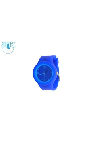 Silic Watch COLOR Round Babe - modrá variace
