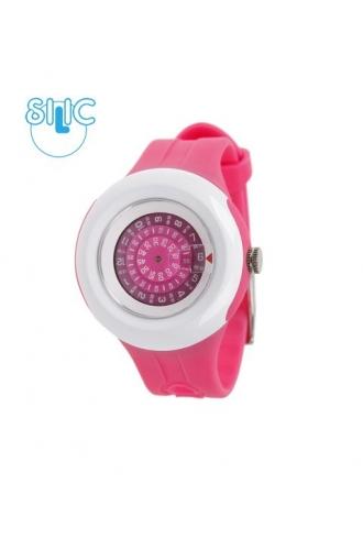 Hodinky Silic Watch Bratz - tmavě růžové
