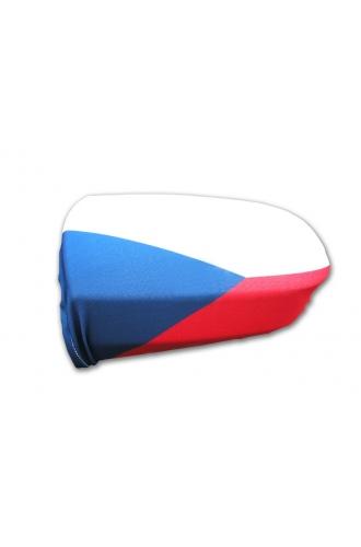 Návleky na zpětná zrcátka auta - vlajka ČR