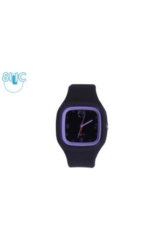 Silic Watch COLOR Babe - černá
