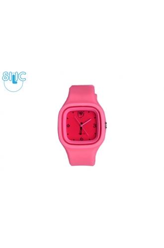 Silic Watch COLOR Babe - tmavě růžová