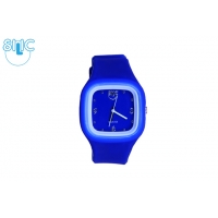 Silic Watch COLOR Babe - modr