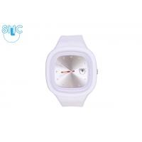 Silic Watch Color Crystal edition - bílá variace