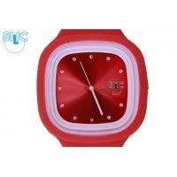 Silic Watch Color Crystal edition - červené
