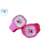 Silic Watch Color – I Love You sv. růžová variace