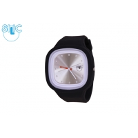 Silic Watch Color Crystal edition - bílá variace