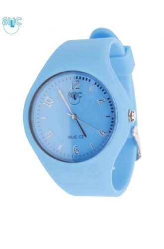 Hodinky Silic Watch POE - modré