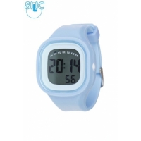 Silic Watch Color Digital - svtle modr