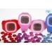 Silic Watch Color Digital - červená