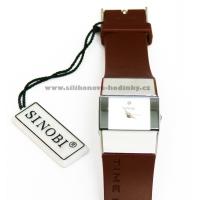 Luxusní hodinky SINOBI - hnědé