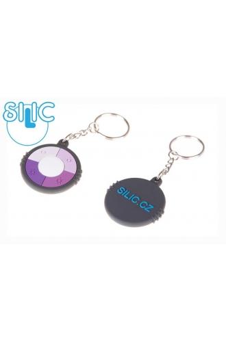 Silic UV silikonový přívěsek - kolečko