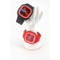 Silic Watch COLOR - červená variace