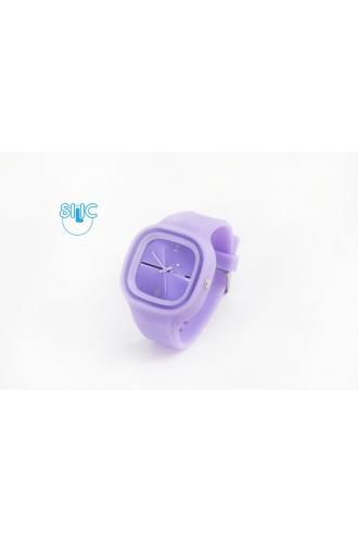 Silic Watch COLOR - světle fialová variace