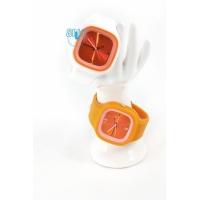 Silic Watch COLOR - oranžová variace