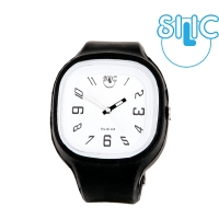 Silic Watch COLOR Numeral - bílá variace