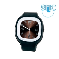 Silic Watch COLOR Numeral - hnědá variace