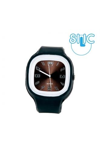 Silic Watch COLOR Numeral - hnědá variace