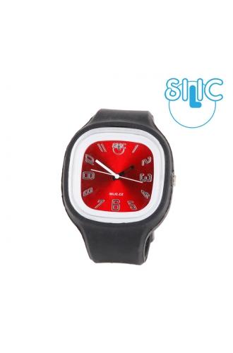 Silic Watch COLOR Numeral - červená variace