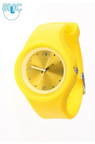 Silic Watch COLOR Round Babe - žlutá variace