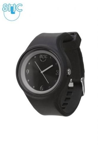 Silic Watch COLOR Round Babe - černá variace