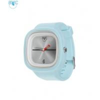 Silic Watch COLOR - stříbrná variace s bílým orámováním