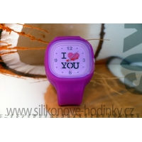 Silic Watch COLOR - edice I Love You