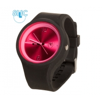 Silic Watch Color Round - rosy