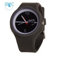 Silic Watch Color Round - černá