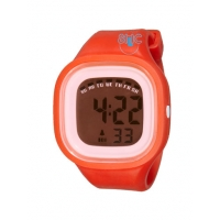 Silic Watch Color Digital - červená