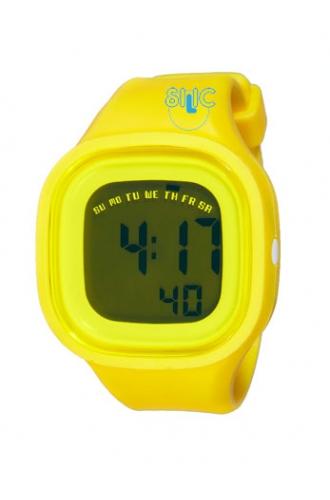 Silic Watch Color Digital - žlutá
