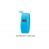 Silic Watch ION II - svtle modr