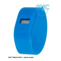 Silic Watch ION II - tmavě modrá