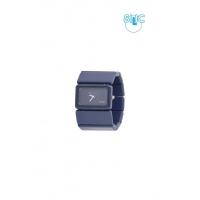 Silic Watch Universe - ocelově modrá