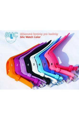 Silic Watch COLOR - náhradní řemínky