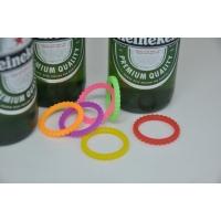 Silikonové označovače na lahve