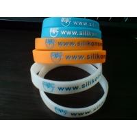 silikonový náramek Silic www