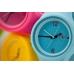 Silic Watch Color Round - bílá