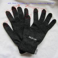 rukavice SilicDOT - černá akční balíček 3ks