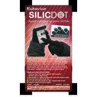 rukavice SilicDOT - černá akční balíček 2ks