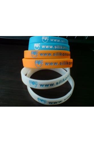 silikonové náramky Silic www - balíček 3ks