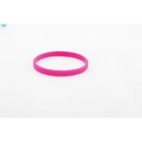 silikonový náramek Silic SLIM tmavě růžová