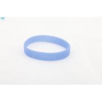 silikonový náramek Silic GLITTER tmavě modrá - svítící