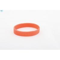 silikonový náramek Silic GLITTER - červená
