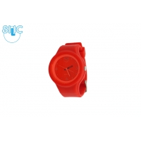 Silic Watch COLOR Round Babe - červená variace