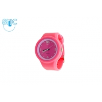 Silic Watch COLOR Round Babe - rosy variace